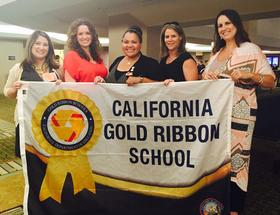 We are a Gold Ribbon School!
